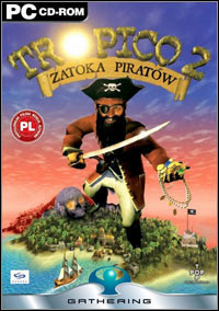 Okładka Tropico 2: Pirate Cove (PC)
