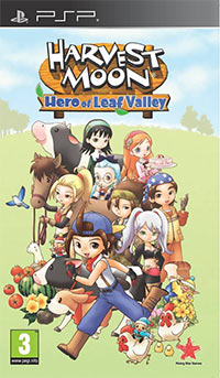 Okładka Harvest Moon: Hero of Leaf Valley (PSP)