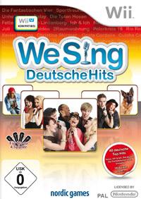 Okładka We Sing Deutsche Hits (Wii)