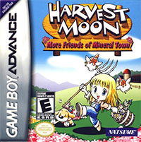 Game Box for Harvest Moon: More Friends of Mineral Town (GBA)