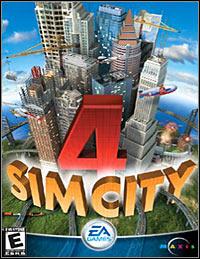 Okładka SimCity 4 (PC)