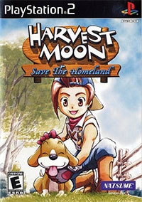 Game Box for Harvest Moon: Save the Homeland (PS2)
