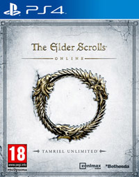 Game The Elder Scrolls Online: Tamriel Unlimited (PS4) cover