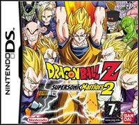 Okładka Dragon Ball Z: Supersonic Warriors 2 (NDS)