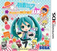 Okładka Hatsune Miku: Project Mirai DX (3DS)