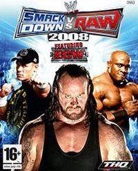 Okładka WWE SmackDown! vs. Raw 2008 (PS2)
