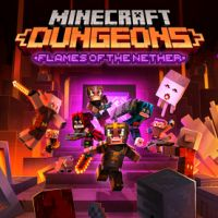 Okładka Minecraft: Dungeons - Flames of the Nether (PC)