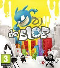 Okładka de Blob (Wii)