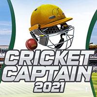 Okładka Cricket Captain 2021 (PC)