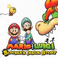 Okładka Mario & Luigi: Bowser's Inside Story + Bowser Jr.'s Journey (3DS)