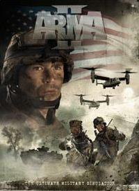 Okładka ArmA II (PS3)