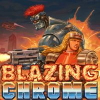 Game Box for Blazing Chrome (PS4)