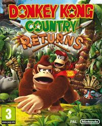 Okładka Donkey Kong Country Returns (Wii)