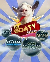Okładka Goat Simulator: The GOATY (PS4)