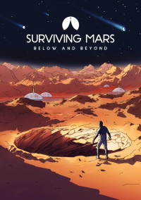 Surviving Mars: Below and Beyond (PC cover