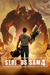 Game Box for Serious Sam 4 (PC)