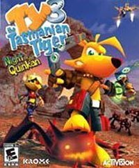 Ty the Tasmanian Tiger 3: Night of the Quinkan cover