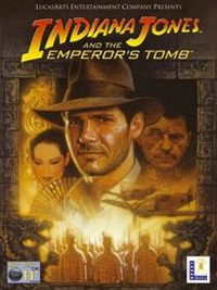 Game Box for Indiana Jones and the Emperor's Tomb (PC)