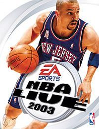 Game Box for NBA Live 2003 (PC)