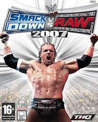 Okładka WWE SmackDown! vs. Raw 2007 (X360)