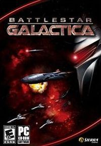 Okładka Battlestar Galactica (2007) (PC)