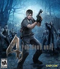 Game Box for Resident Evil 4 HD (X360)