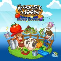 Game Box for Harvest Moon: Mad Dash (PS4)
