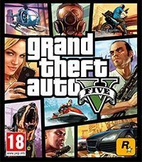 Game Box for Grand Theft Auto V (PS3)