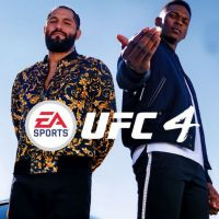 Game Box for EA Sports UFC 4 (PS4)