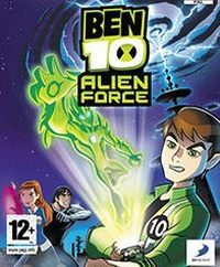 Game Box for Ben 10: Alien Force The Game (PSP)