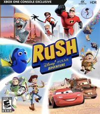 Okładka Rush: A Disney Pixar Adventure (XONE)