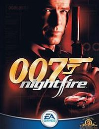 Game Box For James Bond 007 Nightfire Pc
