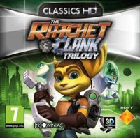 Game Box for The Ratchet & Clank Trilogy (PS3)