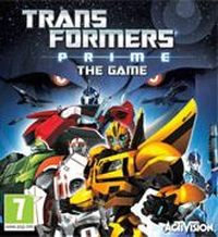 Transformers Prime: The Game (3DS cover