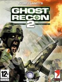 Game Box for Tom Clancy's Ghost Recon 2 (PS2)