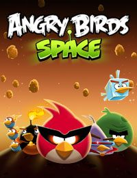 Game Box for Angry Birds Space (PC)