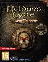 Game Box for Baldur's Gate: Enhanced Edition (PS4)
