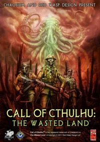 Okładka Call of Cthulhu: The Wasted Land (PC)