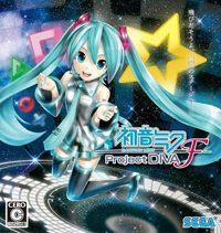 Okładka Hatsune Miku: Project DIVA F (PSV)