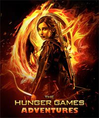 The Hunger Games Adventures (AND cover