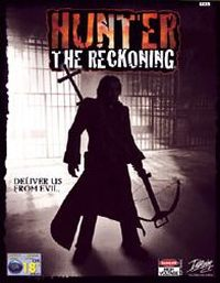 Game Box for Hunter: The Reckoning (GCN)