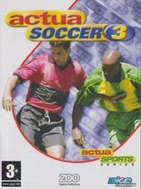Game Box for Actua Soccer 3 (PS1)