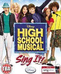Okładka High School Musical: Sing It! (Wii)