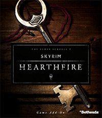 Game Box for The Elder Scrolls V: Skyrim - Hearthfire (PC)