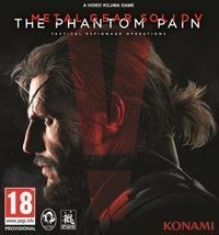 Okładka Metal Gear Solid V: The Phantom Pain (PC)