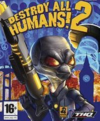 Game Box for Destroy All Humans! 2: Make War Not Love (PS2)