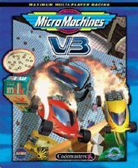 Okładka Micro Machines V3 (GBA)