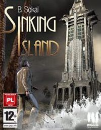 Game Box for Sinking Island (NDS)