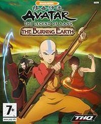 Okładka Avatar: The Last Airbender - The Burning Earth (GBA)