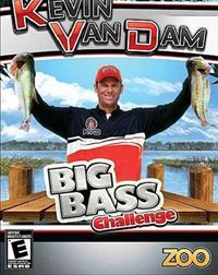 Game Box for Kevin VanDam's Big Bass Challenge (Wii)